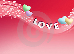Love Card Royalty Free Stock Photography - Image: 15070447