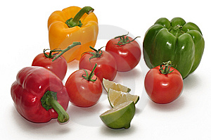 Fresh Fruits And Vegetables Stock Photography - Image: 15070452
