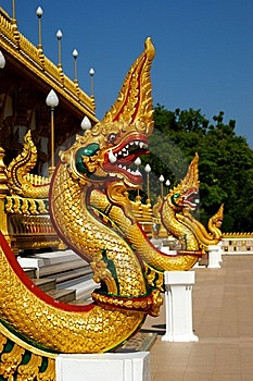 Naga Statue H01 Stock Photos - Image: 15071523