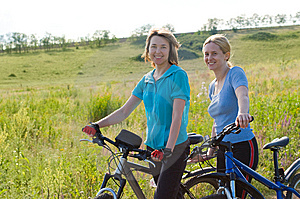 Relax Biking Royalty Free Stock Photography - Image: 15072007