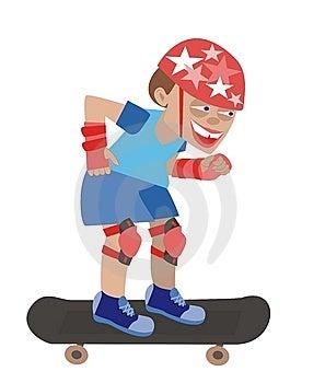 Skateboard1 Royalty Free Stock Images - Image: 15072969