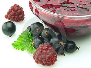 Jam With Berries Royalty Free Stock Images - Image: 15075439
