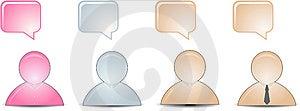 Talking Buddies Stock Image - Image: 15076201
