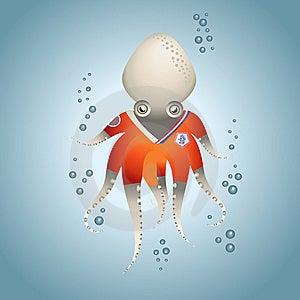 OctopusHollandGray Royalty Free Stock Photos - Image: 15077048