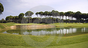 Panorama Of Golf Club Royalty Free Stock Images - Image: 15077369