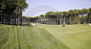 Panorama Of Golf Club Stock Image - Image: 15077391