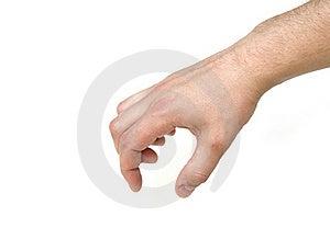 Man's Hand Royalty Free Stock Photo - Image: 15078875