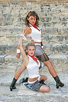 Modern Dancers Royalty Free Stock Photos - Image: 15082088