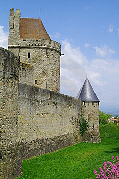Tower And Rampart Royalty Free Stock Photos - Image: 15086868