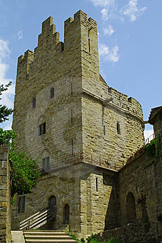 Tower And Rampart Stock Image - Image: 15086901