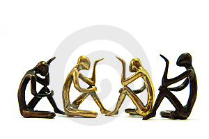 Human Brass Ware Stock Photo - Image: 15087630