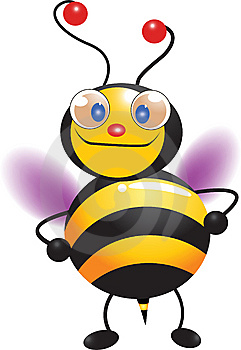 Cute Bee Stock Photos - Image: 15087993