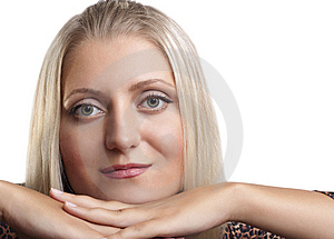 Portrait Of Young Beautiful Girl Stock Image - Image: 15089821