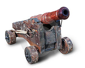 Small Ancient Cannon Royalty Free Stock Photos - Image: 15091798