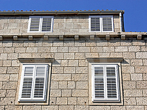 Shutters Stock Images - Image: 15093324