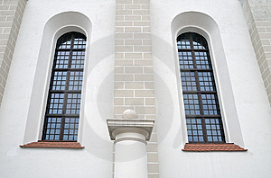 Ancient Palace Wall And Window. Royalty Free Stock Photography - Image: 15093337