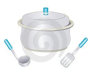 Cooking Pot Royalty Free Stock Image - Image: 15096126