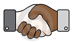 Handshake Race Relations Stock Images - Image: 15096204