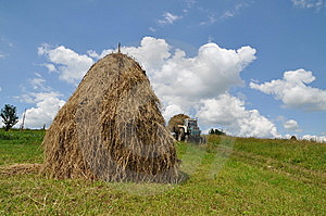 Hay Preparation Stock Photography - Image: 15096372