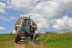 Hay Transportation Royalty Free Stock Photo - Image: 15096375