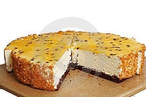 Passiflora Cake. Royalty Free Stock Image - Image: 15097596