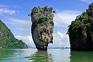 James Bond Island Royalty Free Stock Photos - Image: 15098578