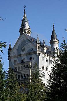 Castle In Germany Royalty Free Stock Image - Image: 1518776