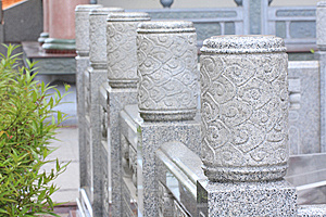 A Head Of Column Chinese Style Royalty Free Stock Image - Image: 15100446