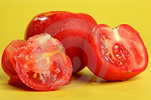 Fresh Sliced Tomato Royalty Free Stock Photos - Image: 15100558