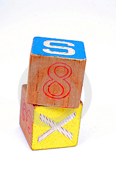 Toy Wooden Blocks Royalty Free Stock Photos - Image: 15102428