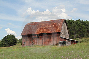 Tin Roofed Barn Stock Photos - Image: 15104163