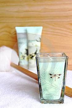 Spa Amenities Stock Images - Image: 15104334