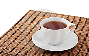 A Cup Of Tea And A Saucer Stock Image - Image: 15105721