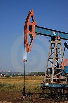 Oil Pump Jack Royalty Free Stock Photo - Image: 15107145