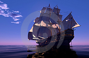 The  Ship Royalty Free Stock Images - Image: 15108909