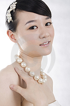 Beautiful Bride With Perfect Natural Makeup Royalty Free Stock Photos - Image: 15109748