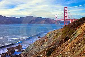 Golden Gate Bridge Royalty Free Stock Photos - Image: 15114888