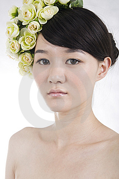 Beautiful Bride With Perfect Natural Makeup Royalty Free Stock Image - Image: 15123216