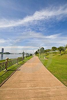 Cyber Jaya Landscape Royalty Free Stock Image - Image: 15123596
