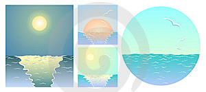 Sea Backgrounds Royalty Free Stock Photos - Image: 15125408