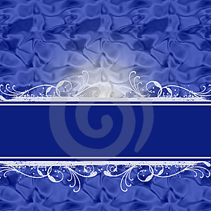 Blue Luxurious Background With Place For Text Stock Images - Image: 15125424