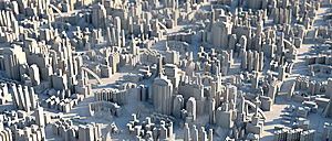Mini City Scape Air Shot Stock Photos - Image: 15126593