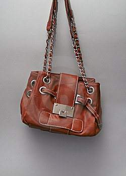 Leather Hand Bag Stock Images - Image: 15127274