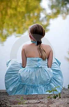 Little Girl In Park Stock Photos - Image: 15129233
