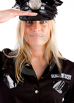 Policewoman Is On Duty Royalty Free Stock Photos - Image: 15129728