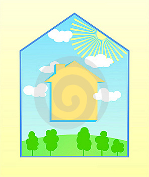 My Happy House Royalty Free Stock Images - Image: 15130049