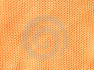 Orange Woolen Cloth Royalty Free Stock Photography - Image: 15130837
