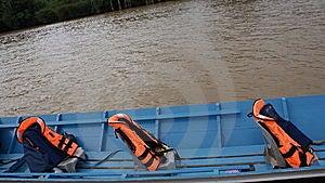 Iban Longboat Royalty Free Stock Photos - Image: 15138698