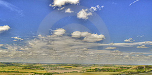 HDR Of Dunstable Downs Stock Photography - Image: 15138922
