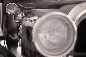Russian Retro-styled Car Good-looking Stock Photos - Image: 15138933